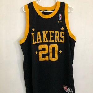 Gary Payton Nike XL Lakers Jersey